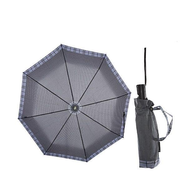 Зонт 23, полный автомат (Сиреневая клетка)