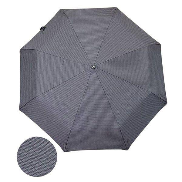 Зонт мужской 23, полный автомат (Серая клетка)