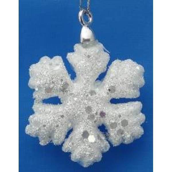 Новогоднее украшение Снежинка, D4.5см
