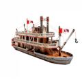 Модели пассажирских кораблей для склеивания