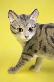 Статуэтка Кошка полосатая