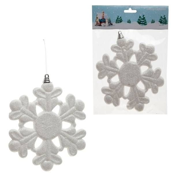 Новогоднее украшение Снежинка, 15 см