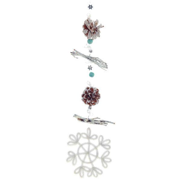 Новогоднее украшение Снежинка, L35см