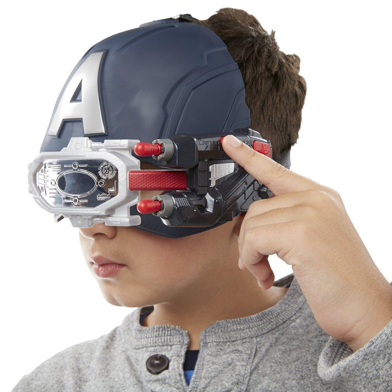 """Электронный шлем Капитана Америки """"Первый мститель"""" (свет, звук)"""