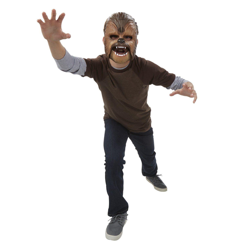 Электронная маска Чубакки Star Wars (звук)