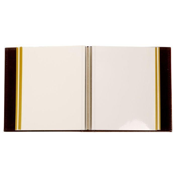 """Фотоальбом на 20 магнитных листов """"Наша любимая семья"""", экокожа"""