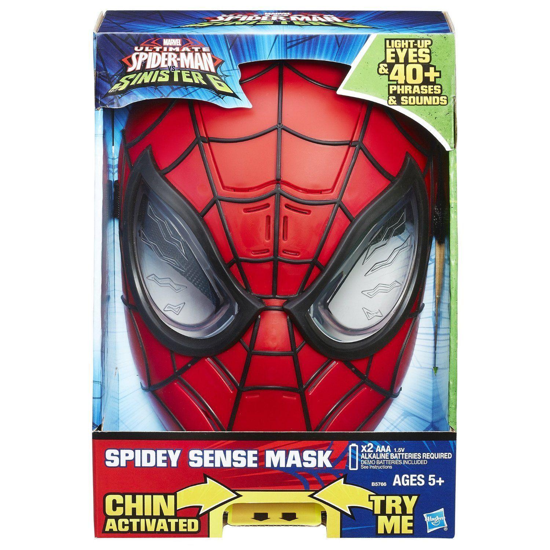 Электронная маска Человека-паука Ultimate Spider-Man vs. Sinister 6 (свет, звук)