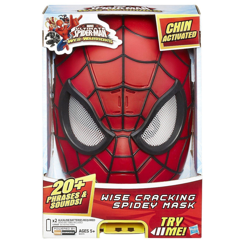 Электронная маска Совершенного Человека-паука