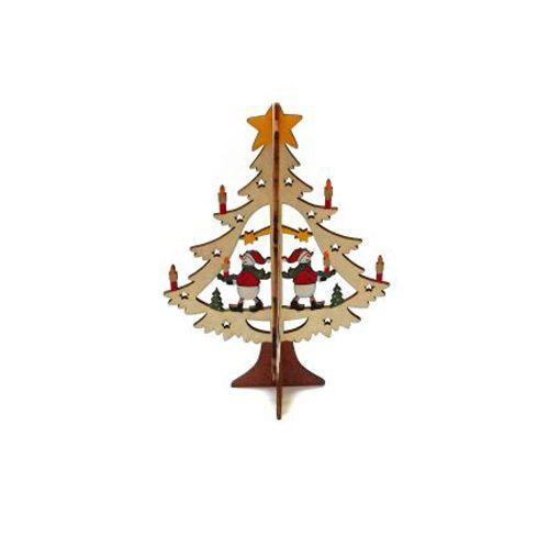 Деревянная елочка, 20 см