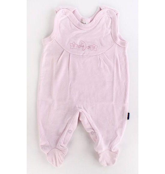 """Одежда для малышей """"Полукомбинезон"""", розовая, р. 56"""