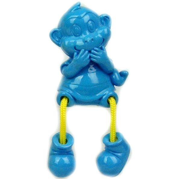 """Магнит """"Забавная обезьянка"""", голубая, 7 см"""
