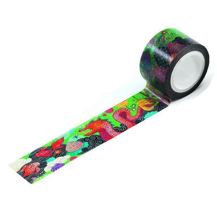 Цветной декоративный скотч Lovely Paper - Муриэль, 10 м