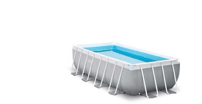 Каркасный бассейн, 400 х 200 х 100 см