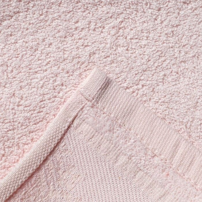 "Полотенце махровое махровое ""Yasemin"" 30х50 см, св.розовый, в коробке,420 г/м2, 100% хл."