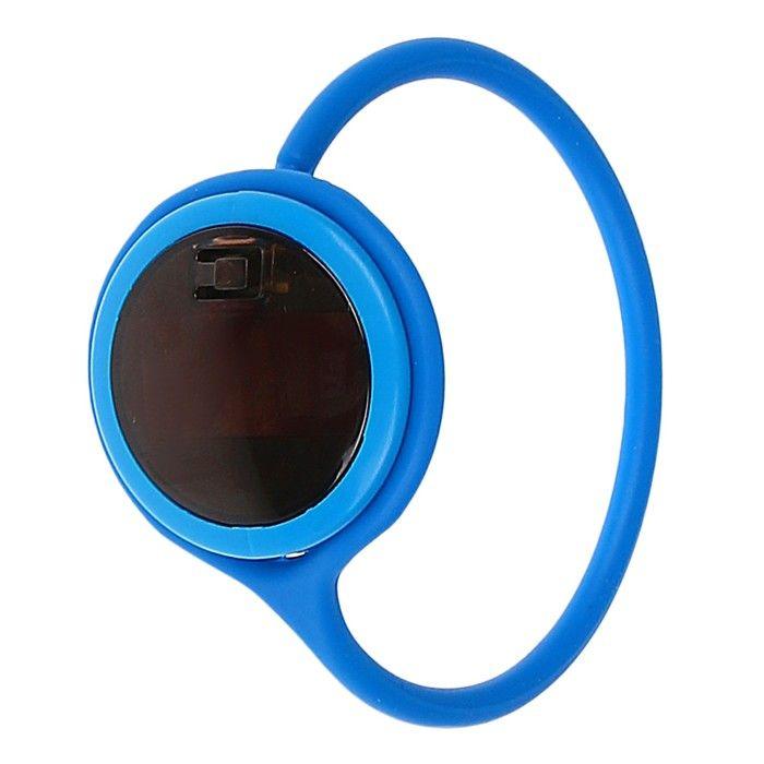 Часы наручные детские, с силиконовым ремешком на петельке 20 см