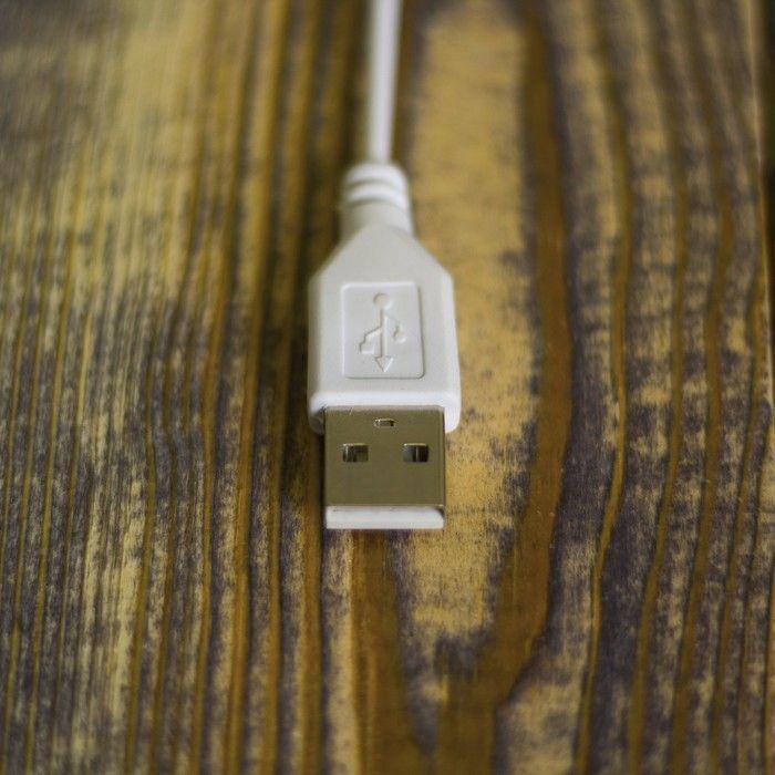 "Фигура акрил. ""Снеговичок"" 15х10 см, USB"