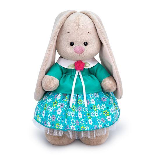"""Мягкая игрушка """"Зайка Ми в бирюзовой курточке"""", 32 см"""