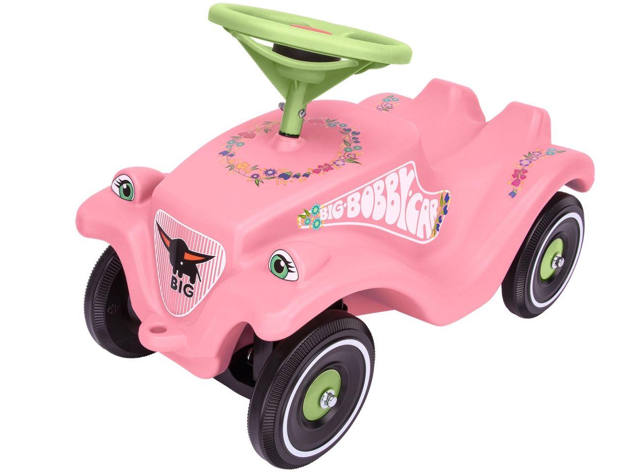 Каталка-толокар Bobby Car Classic - Розовые цветы