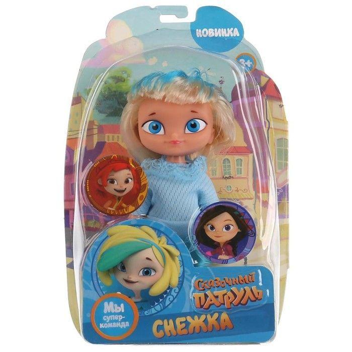 "Кукла ""Снежка"", 15 см SP18-15-S-RU-BL (81)"