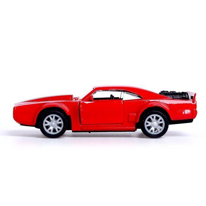 Машина металлическая «Купе», открываются двери, 1:32, инерция