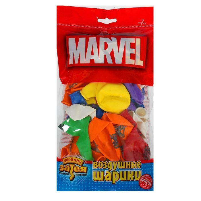 """Шар латексный 12"""" Marvel """"Мстители"""", набор 50 шт., цвета"""