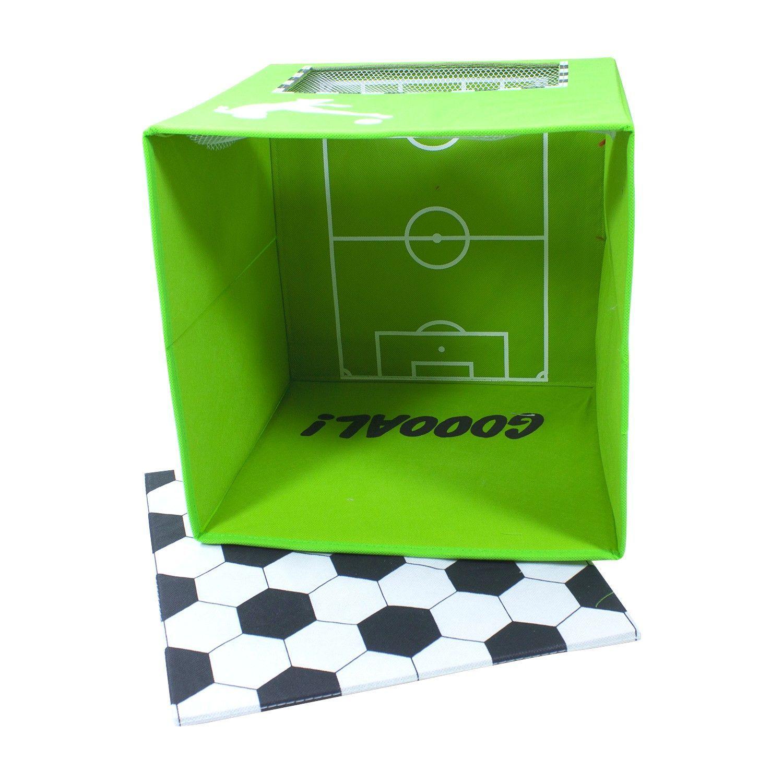 Контейнер для хранения с крышкой маленький Store It Football GOOAL