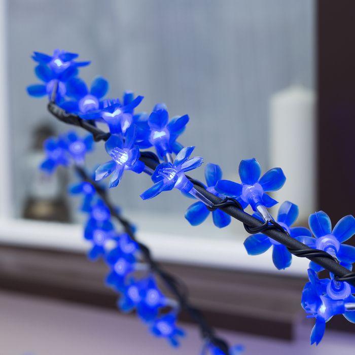 """Дерево светодиодное улич. 1,5 м. """"Сакура"""" 540Led, 32W, 220V Синий"""
