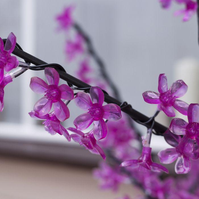 "Дерево светодиодное улич. 1,5 м. ""Сакура"" 540Led, 32W, 220V Фиолетовый"
