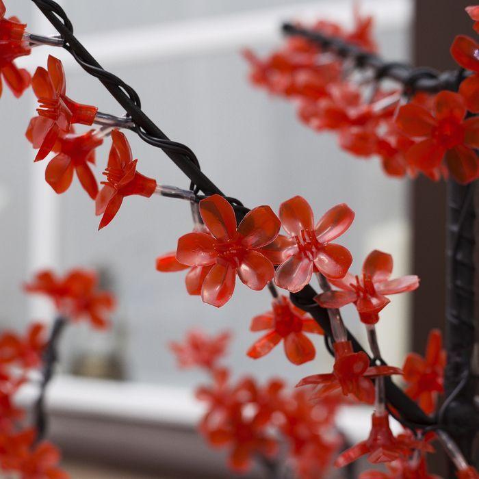 """Дерево светодиодное улич. 1,5 м. """"Сакура"""" 540Led, 32W, 220V Красный"""