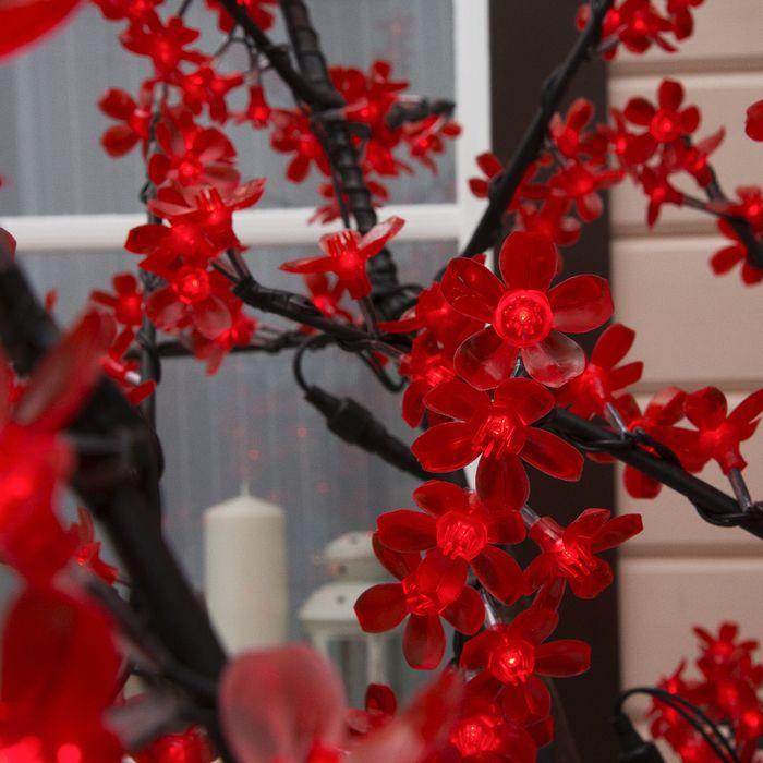 """Дерево светодиодное улич. 1,8 м. """"Сакура"""" 768Led, 46W, 220V Красный"""