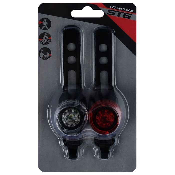 Комплект велофонарей STG -TL5417