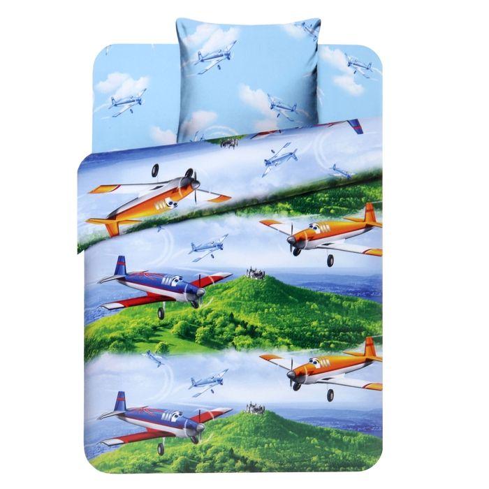 Детское постельное бельё 1,5 сп. «Крутые виражи»