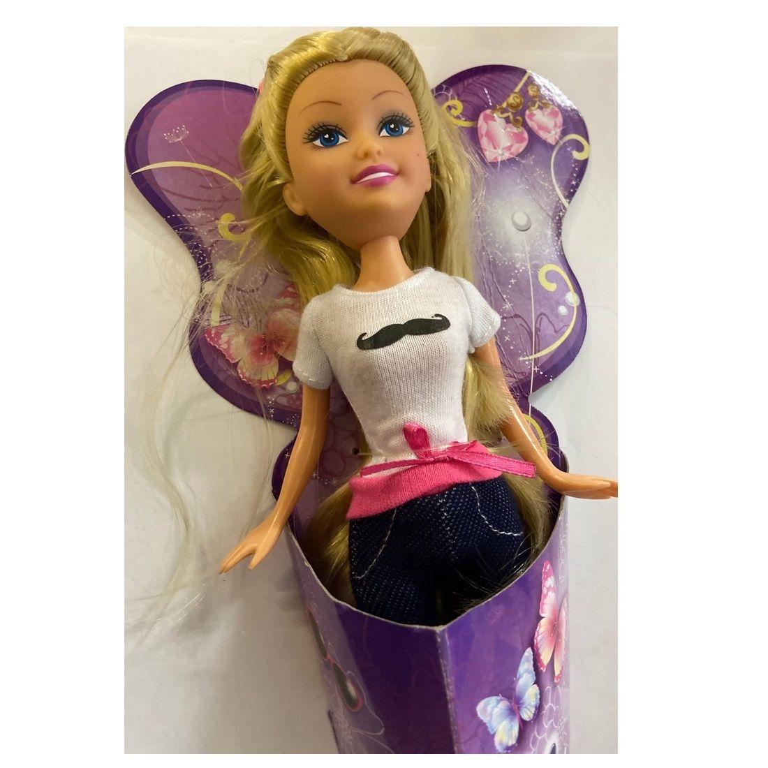Кукла Sparkle Girlz - Модница в белой кофточке