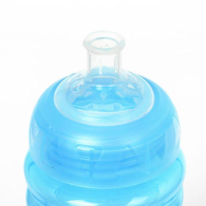 Поильник детский с мягким носиком, 340 мл, от 9 мес., цвет голубой