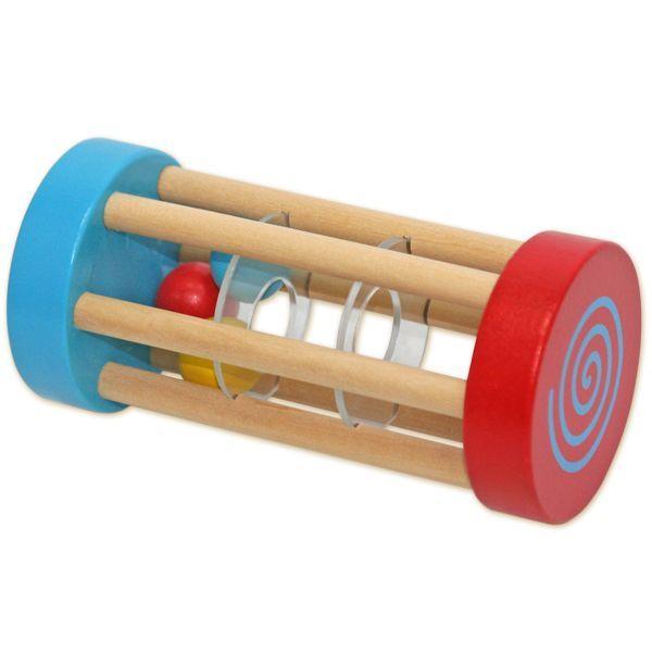 Деревянная игрушка ЛС Погремушка-катушка, в асс.