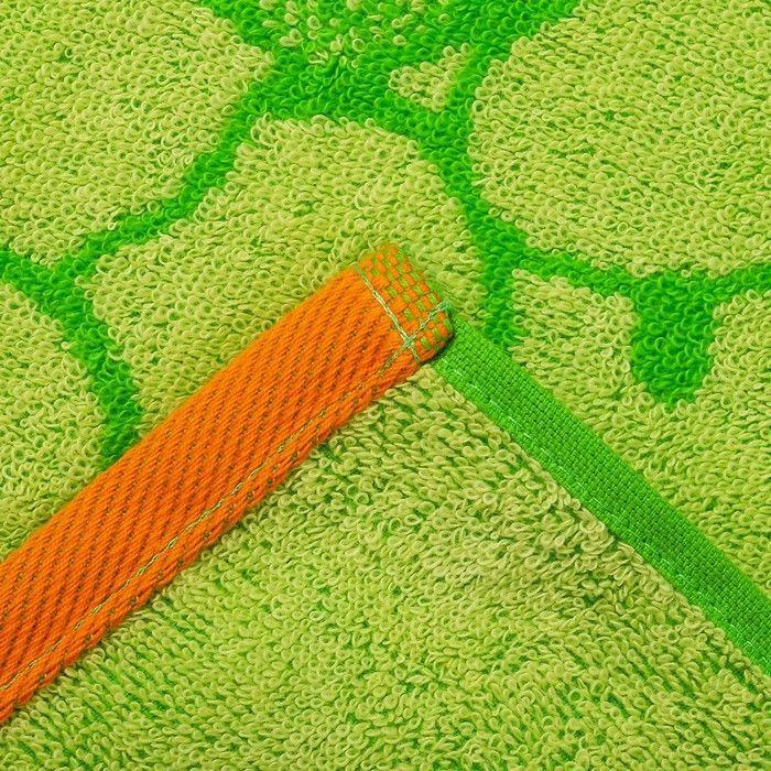 Полотенце махровое My love ПЛ-2602-3131, 50х90 см, цв. 10000, салат, 420 г/м, 100% хл.