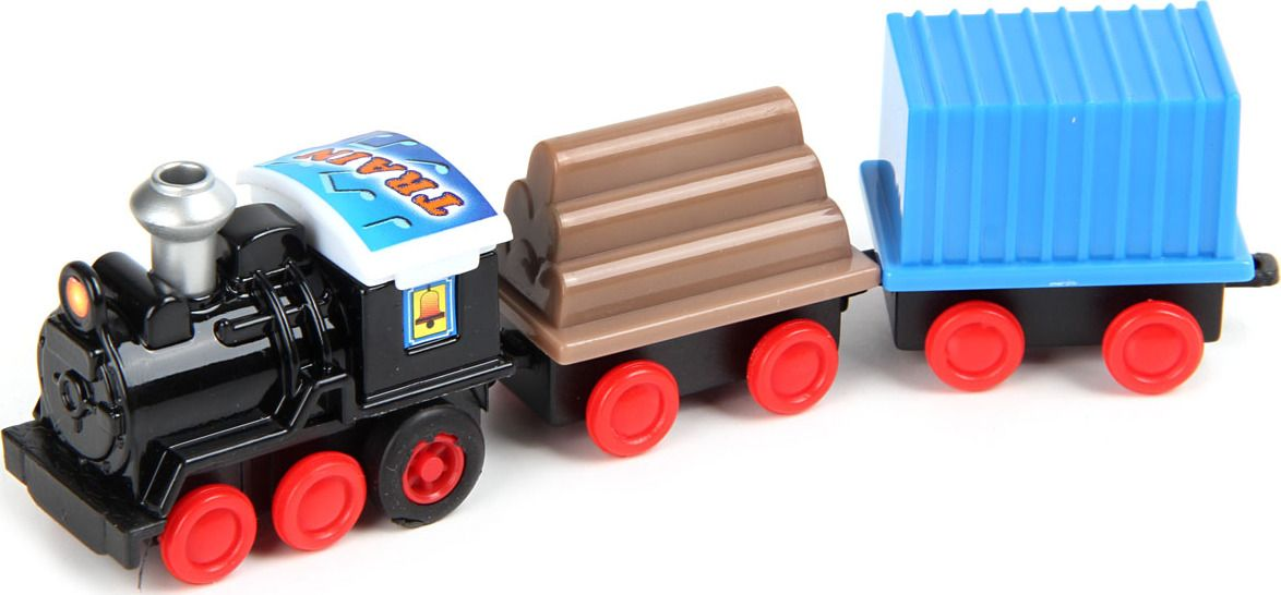 Поезд инерционный, 3 вагона,в кор.,в асс.