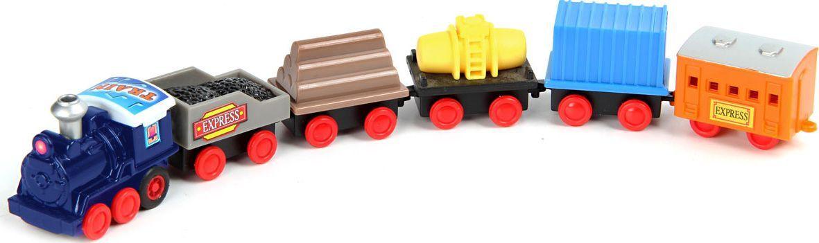 Поезд инерционный, 6 вагонов,в кор.,в асс.