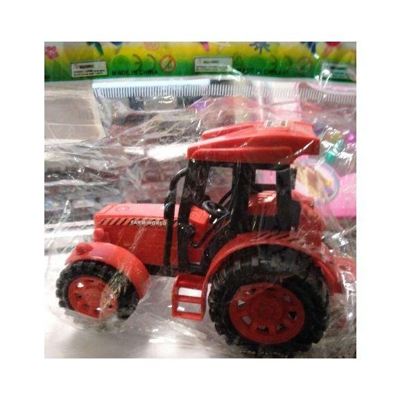 Инерционный трактор Truck, красный