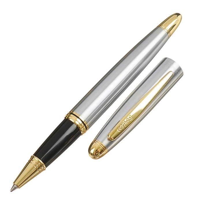 Ручка шариковая подарочная Scrikss Knight 88, роллер, в чёрном футляре