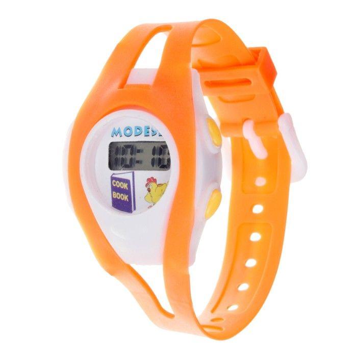 """Часы наручные детские """"Забава"""", электронные, ремешок силикон l=18.5 см"""