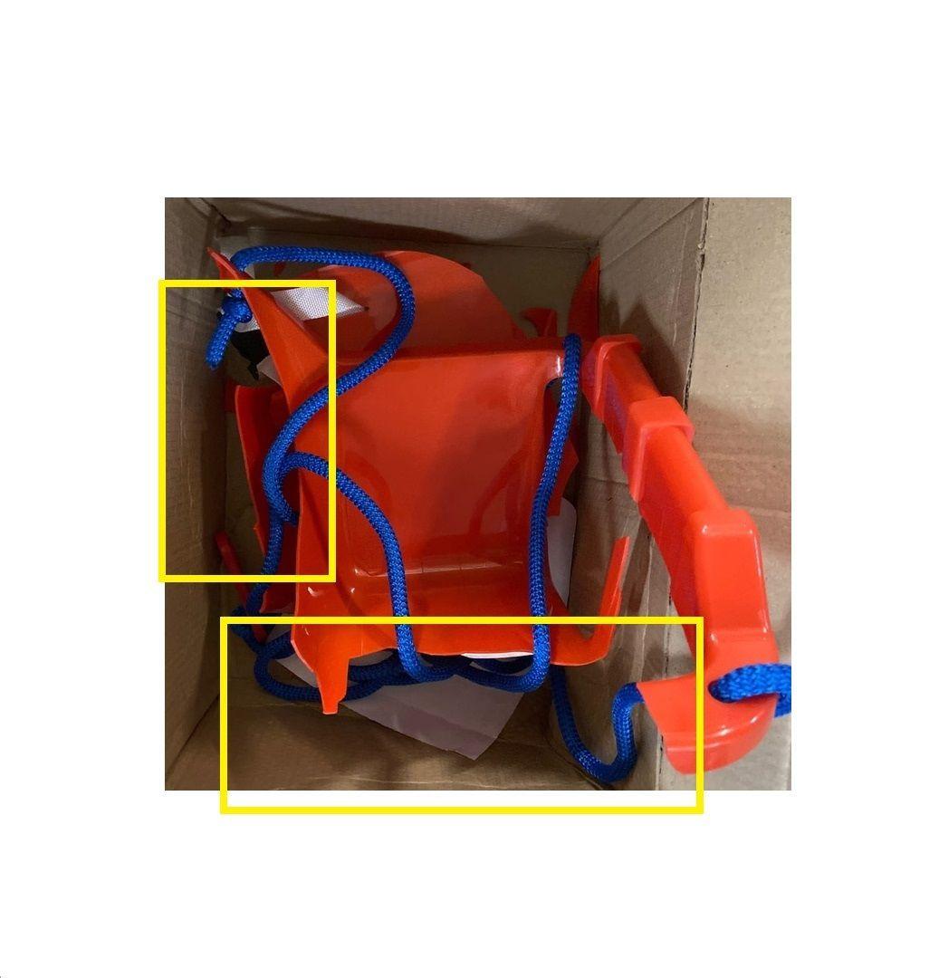 """Подвесные качели """"Малыш"""", оранжевые"""
