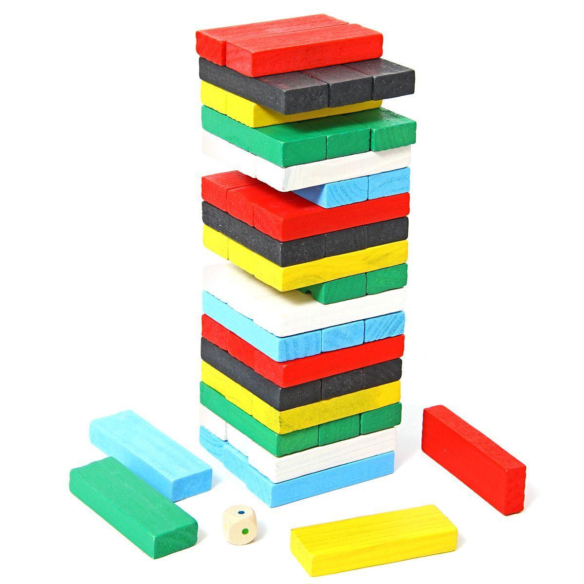 """Деревянная игрушка """"Падающая башня"""""""
