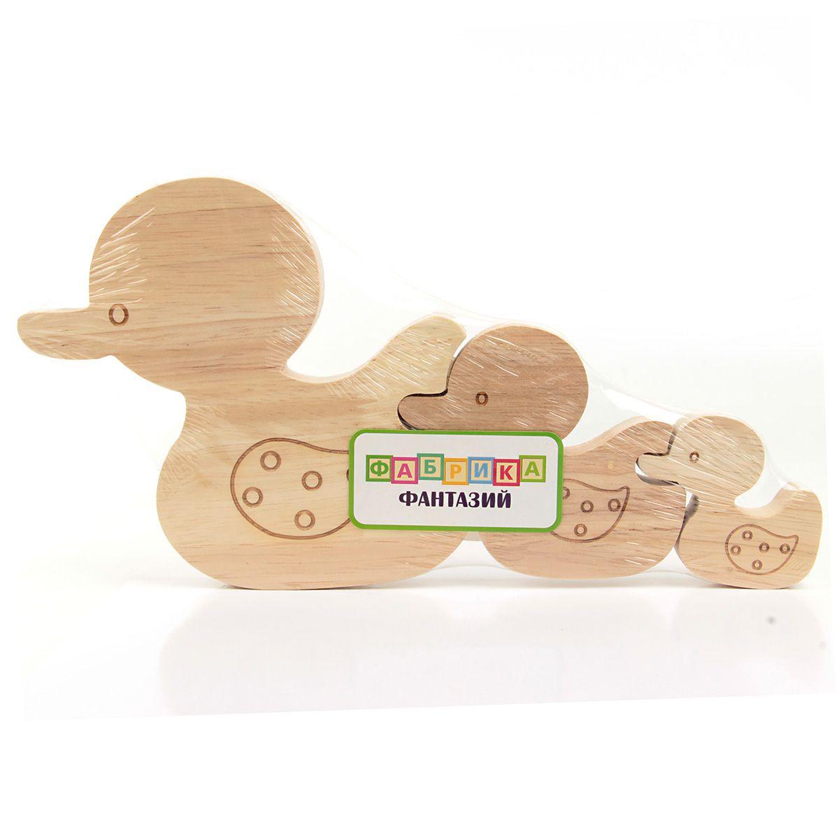 """Деревянная игрушка фигурки животных """"Чей утенок"""""""