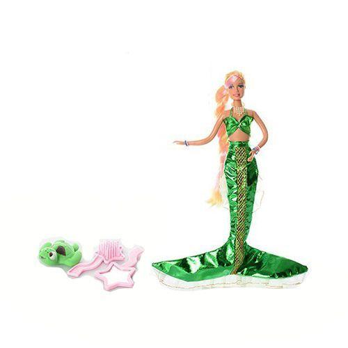 """Кукла Lucy """"Принцесса Русалочка"""" с аксессуарами, в зеленом"""