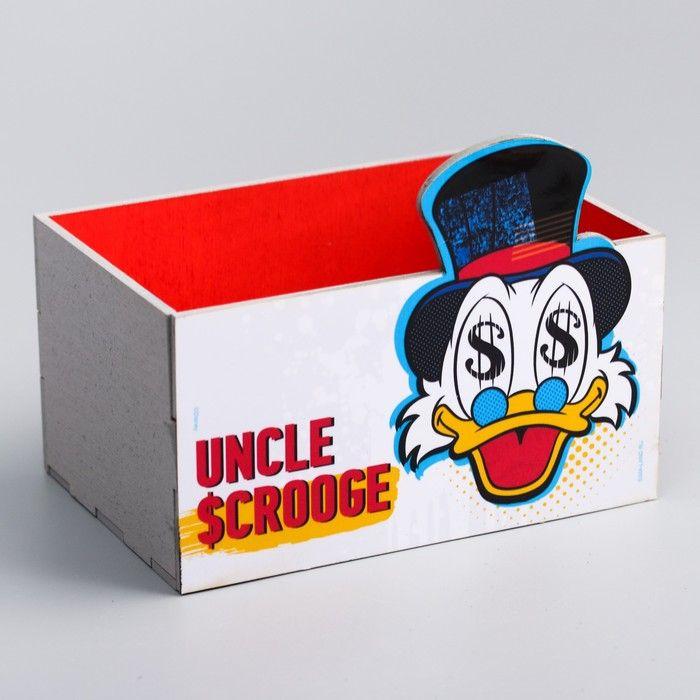 """Органайзер для канцелярии """"Скрудж"""", Disney, 150 х 100 х 80 мм"""