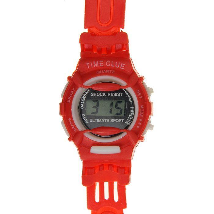 """Часы наручные детские """"Баловень"""", ремешок силикон l=20 см"""