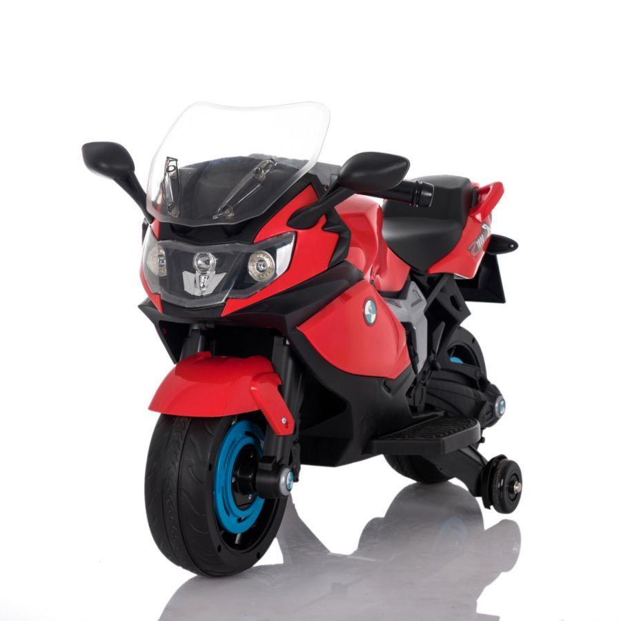 "Электромобиль ""Мотоцикл"" (на аккум., свет, звук), красный"
