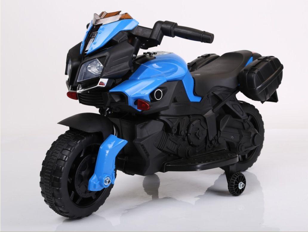 """Электромобиль """"Мотоцикл"""" (на аккум., свет, звук), синий"""