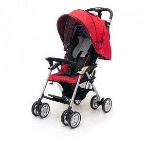 Коляска Прогулочная коляска Jetem - Elegant, Black/Red